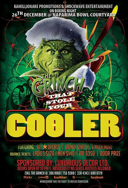 The Grinch That Stole My Cooler