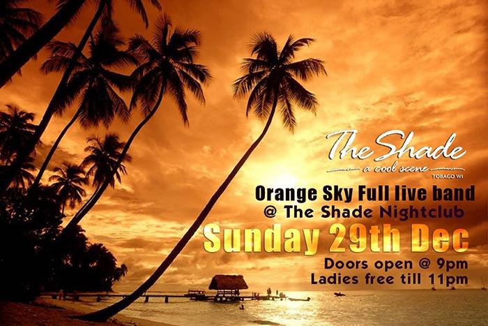 The Shade Ole Years Weekend: Orange Sky Sunday