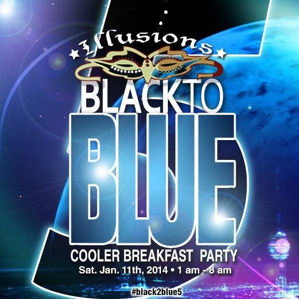 Illusions Black To Blue: The Cooler Breakfast Party