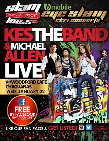 Eye Slam Concert Series 2014: Kes The Band & Michael Allen Live