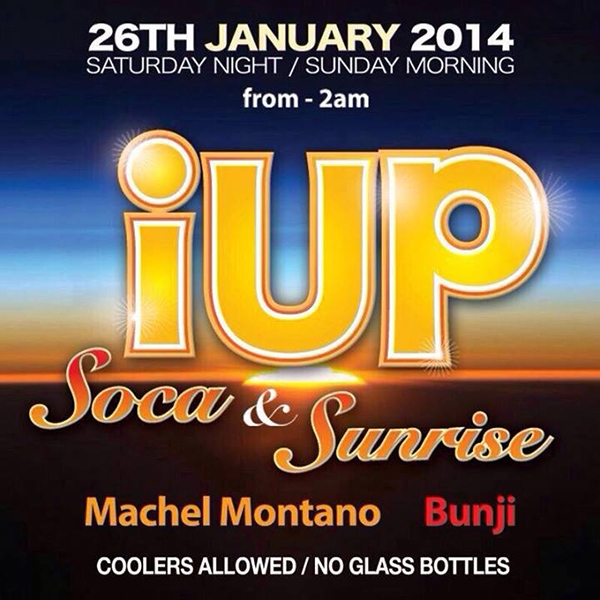 iUP... Soca & Sunrise