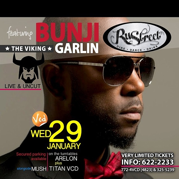 Bunji Garlin at RuStreet