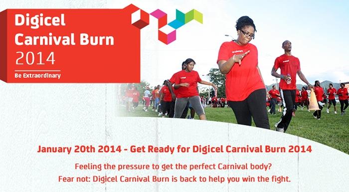 Digicel Carnival Burn 2014
