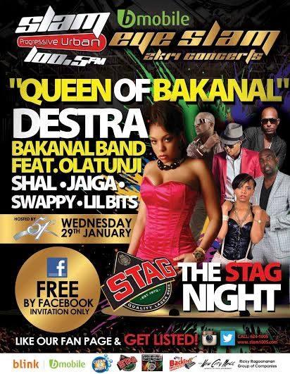 Eye Slam Concert Series 2014: Destra, Olatunji, Shal, Jaiga, Swappi & Lil Bitts