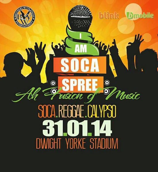 I Am Soca Spree: Ah Fusion Of Music