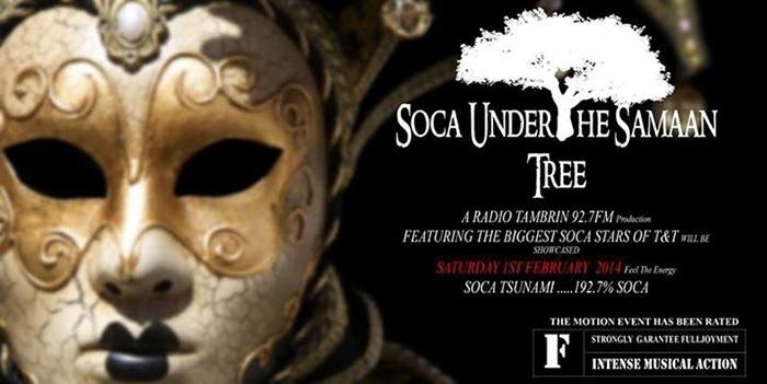 Radio Tambrin 92.7FM's Soca Under The Samaan Tree