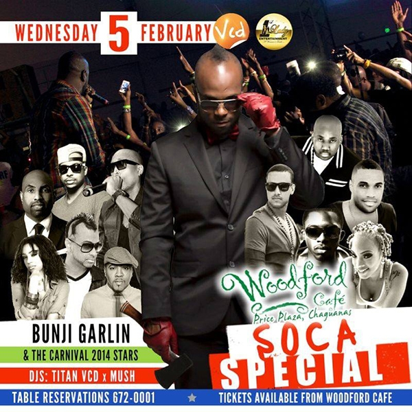 Woodford Cafe Soca Special