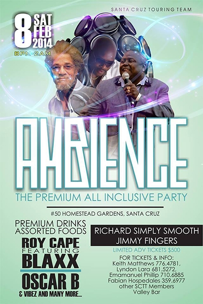 Ambience: The Premium All Inclusive Party