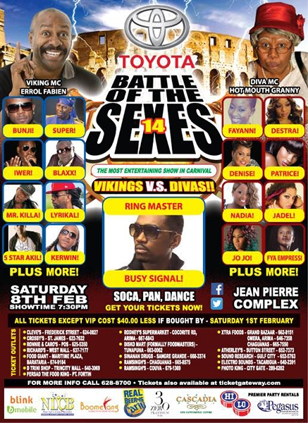 Battle of the Sexes 2014