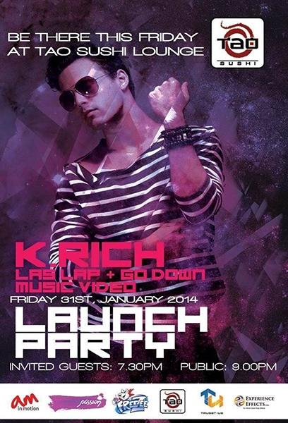 K.Rich Las Lap + Go Down Music Video Launch Party