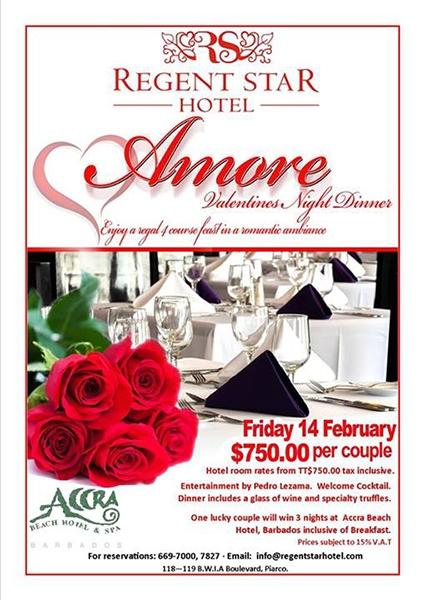 Amore Valentine's Night Dinner