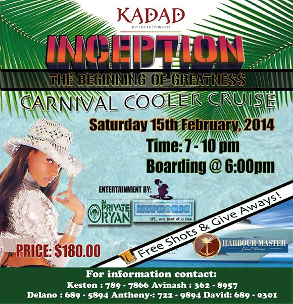 Inception Carnival Cooler Cruise
