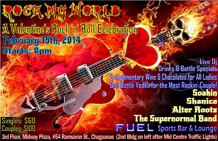 Rock My World: A Valentine's Rock 'n' Roll Celebration