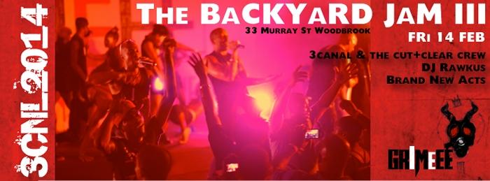 3canal BackYard Jam Finale