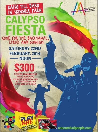 Calypso Fiesta: National Calypso Monarch Semi Final 2014