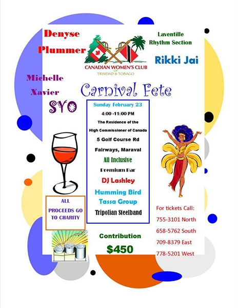 Canadian Women's Club Carnival Fete