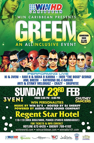 GREEN: An All Inclusive Event