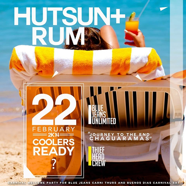 Hut Sun & Rum: Welcome To Carnival