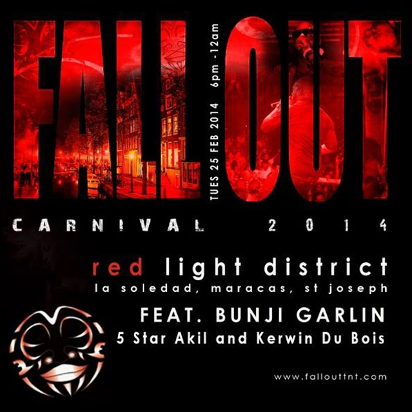 FallOut Carnival All Inclusive Fete 2014: Red Light District