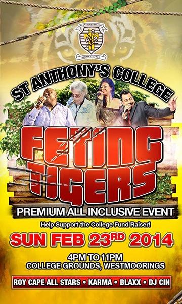 Feting Tigers Premium All Inclusive 2014