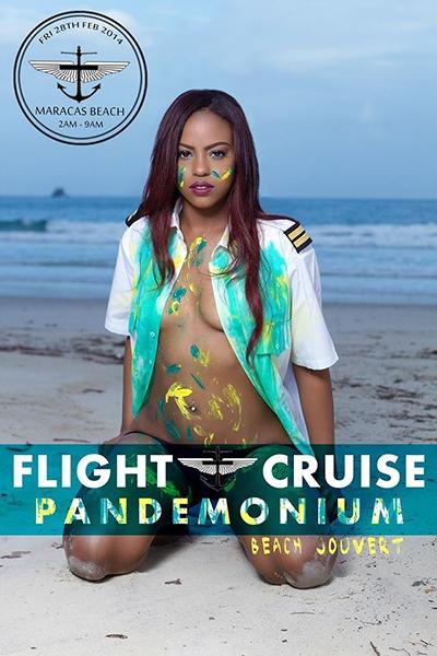Flight Cruise Pandemonium Beach Jouvert