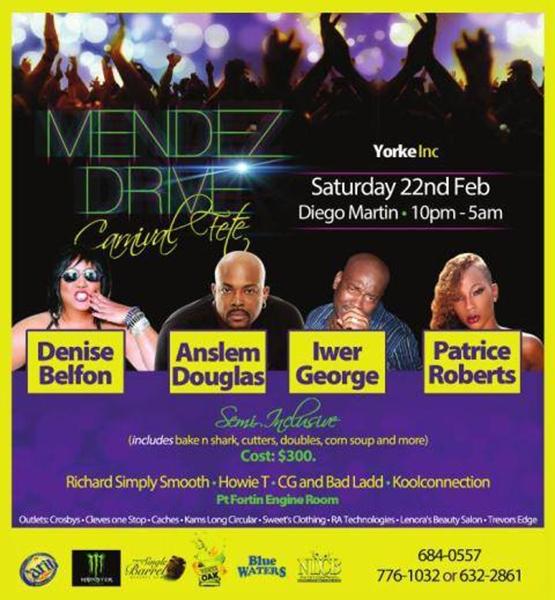 Mendez Drive Fete 2014