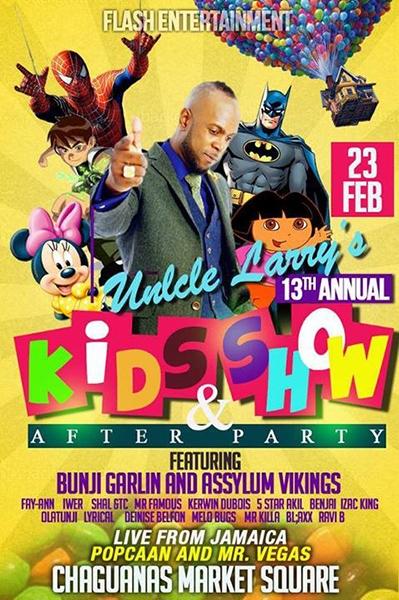 Uncle Larry's Carnival Children's Show