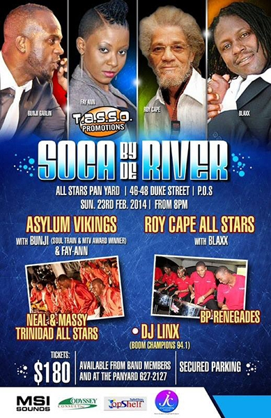 Soca By De River
