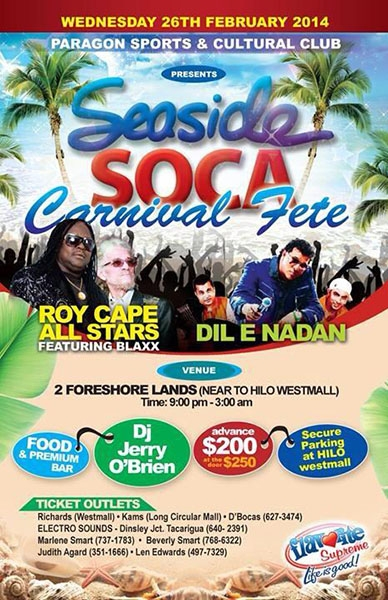 Seaside Soca Carnival Fete