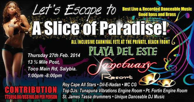 Escape to Playa Del Este Sanctuary All Inclusive Fete 2014