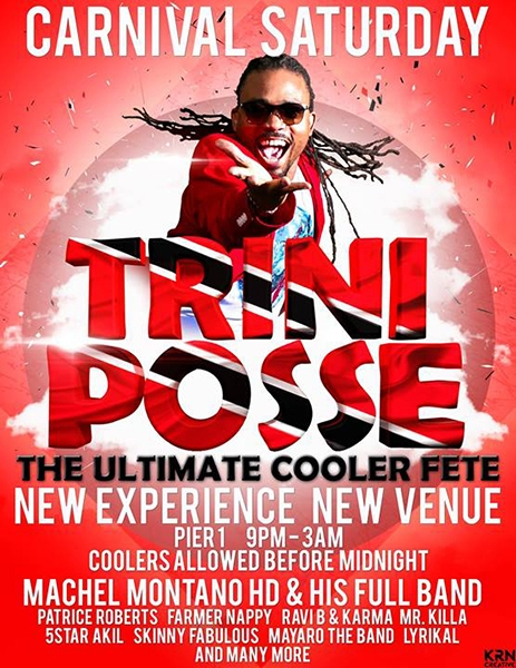 TriniPosse: The Ultimate Cooler Fete