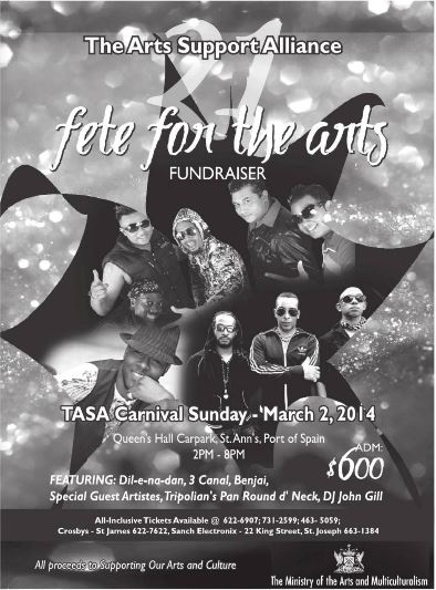 TASA Fete For The Arts 2014