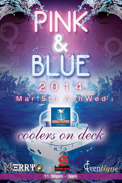Pink & Blue Cooler Cruise