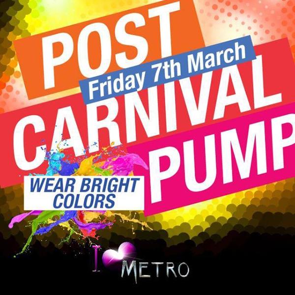 Post Carnival Pump