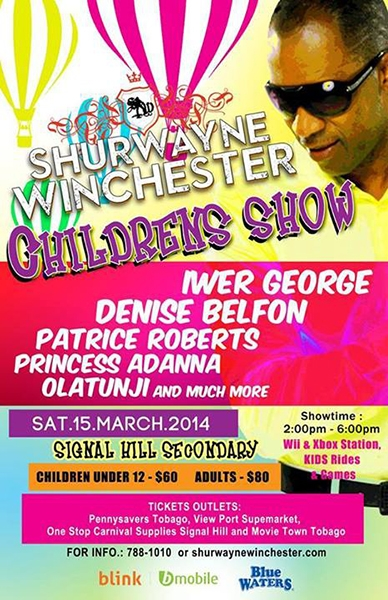 Shurwayne Winchester Childrens Show