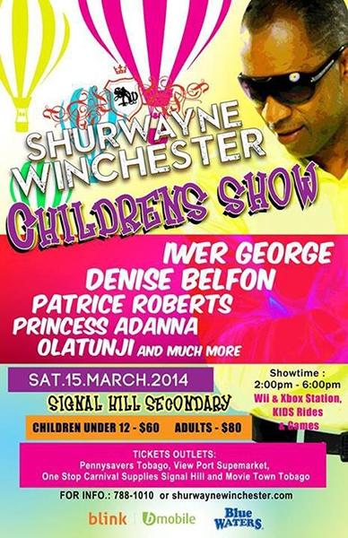 Shurwayne Winchester Childrens Show