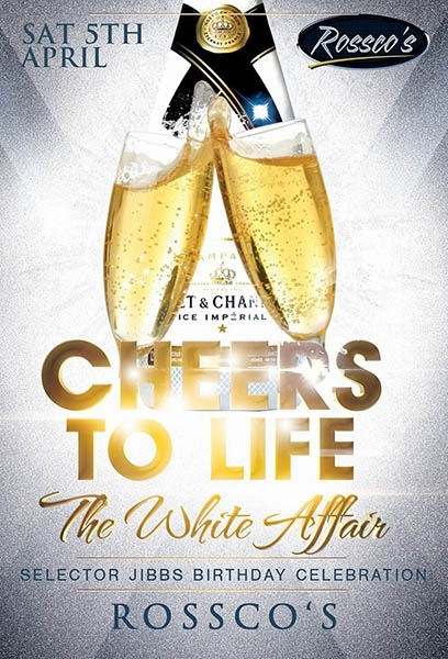 Cheers To Life: The White Affair