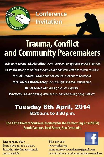 Trauma, Conflict and Community Peacemakers Conference