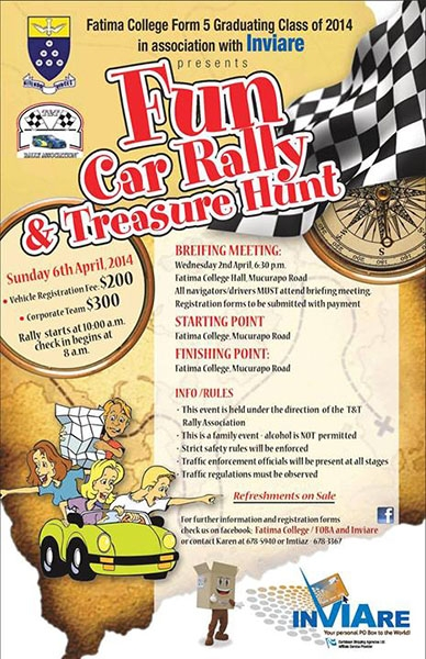Fun Car Rally & Treasure Hunt